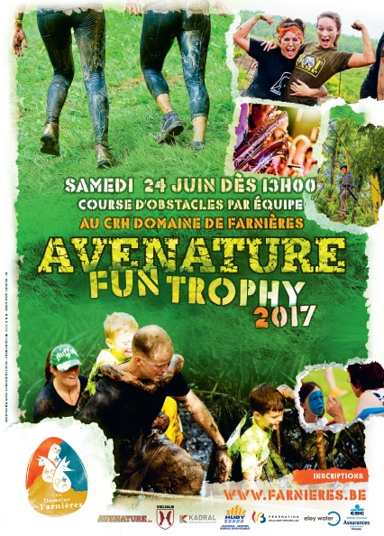 Affiche Avenature Fun Trophy 2017
